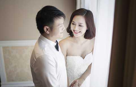 Văn Quyến và vợ xinh Thanh Hằng