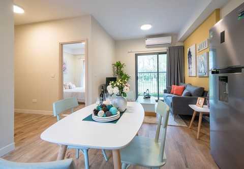 Khách hàng mua căn sky45 hoặc sky45 studio còn được nhận khuyến mãi gói đồ nội thất cực kỳ hữu dụng