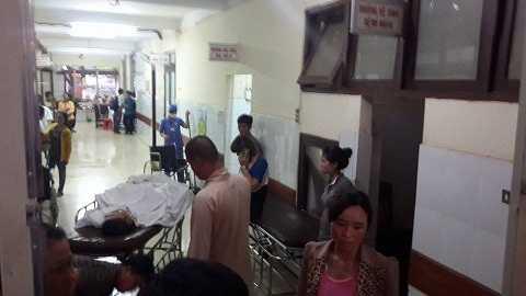 Hành khách tử vong trong vụ tai nạn tại bệnh viện- Ảnh : TH