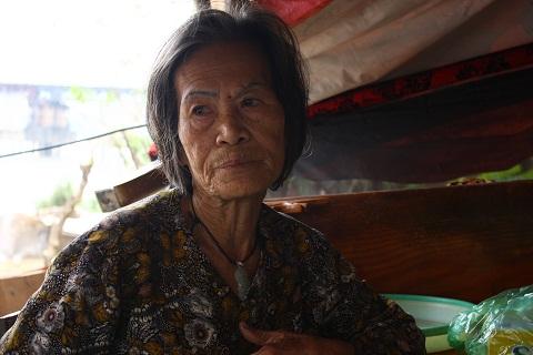 Bà Lan ngậm ngùi tâm sự về số phận của mình với PV