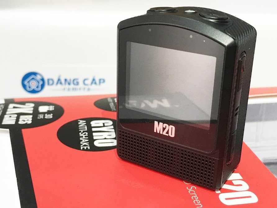 Camera thể thao SJCAM M20 cũng được tích hợp Wi-Fi