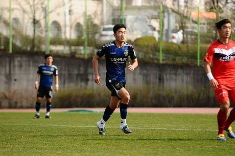 Xuân Trường ra mắt bóng đá Hàn Quốc