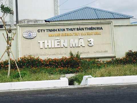 Công ty Thiên Mã của ông Tòng ở KCN Trà Nóc