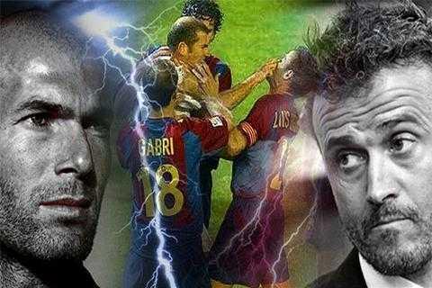 Zidane vs Enrique: Cuộc đối đầu định mệnh