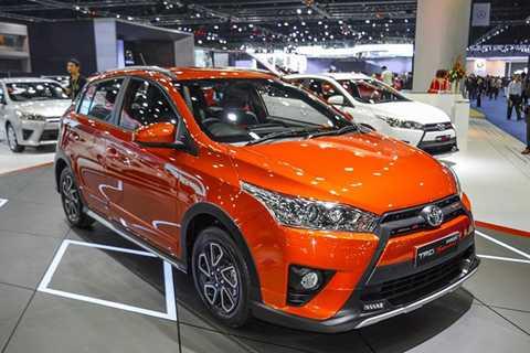 Toyota Yaris TRD Sportivo 2016 đã chính   thức được trình làng tại triển lãm Bangkok 2016 vừa qua. So với phiên   bản tiêu chuẩn, mẫu xe thể thao này được bổ sung nhiều trang bị mới và   phụ kiện ngoại thất.