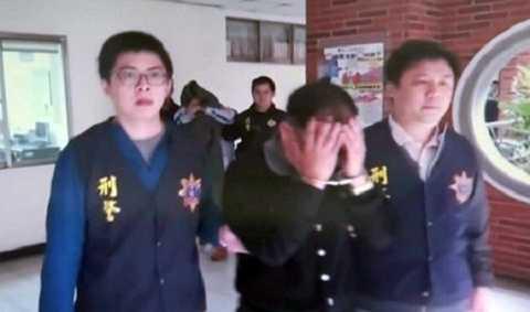 Nghi can sát hại nữ doanh nhân Hà Linh bị bắt tại Đài Loan. Ảnh:TVBS