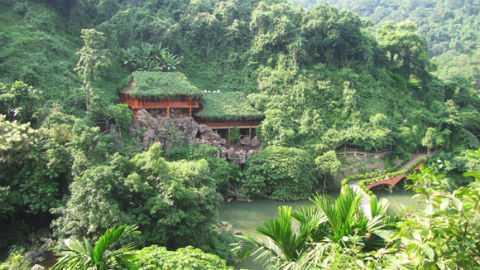 Hà Nội tiếp tục cho phép mở rộng, nâng cấp khu du lịch Thiên Sơn - Suối Ngà thành khu du lịch cao cấp. Ảnh: ANTĐ
