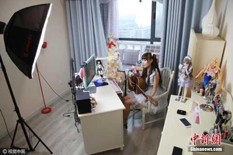 Căn phòng nơi Xiao Ke kiếm tiền hàng ngày