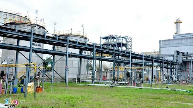 Nhà máy Bio Ethanol Dung Quất (Quảng Ngãi) - Ảnh: Zing