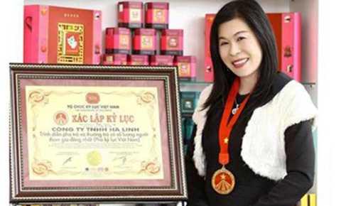 Bà Hà Thúy Linh.