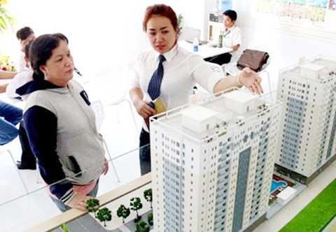 Người mua nhà quan tâm tới gói tín dụng ưu đãi