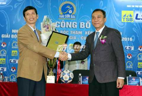 Thái Sơn Bắc là nhà tài trợ chính cho giải VĐQG nữ 2016