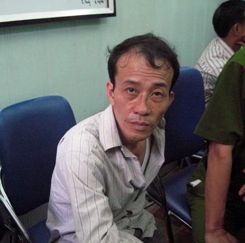 Trùm ma túy Nguyễn Văn Bình khi bị bắt