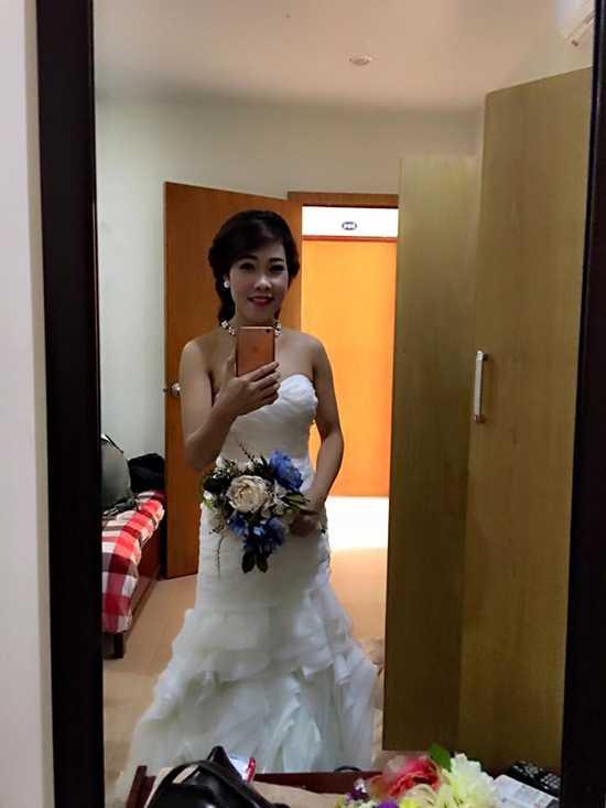 Bà xã mới của Hiệp Gà tên là Diệu   Thúy, quê ở Quảng Ninh.