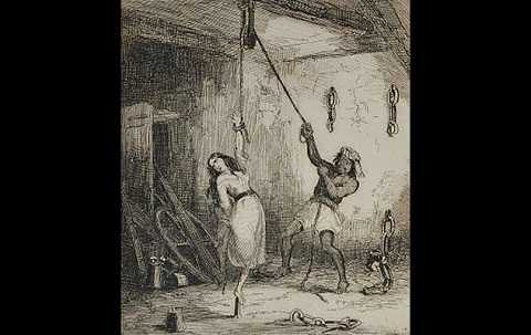 Đây là một hình phạt được áp dụng cuối thời Trung Cổ ở Châu Âu.