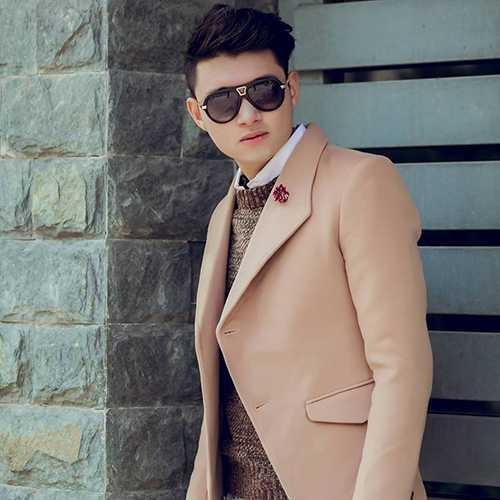 Với chiều cao nổi bật 1m83, hot boy Công Thành từng là một người mẫu được giới trẻ Hà thành biết đến nhiều.