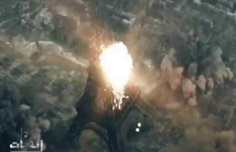 Hình ảnh trong đoạn video tuyên truyền của IS, thực chất được lấy từ trò chơi điện tử có tên