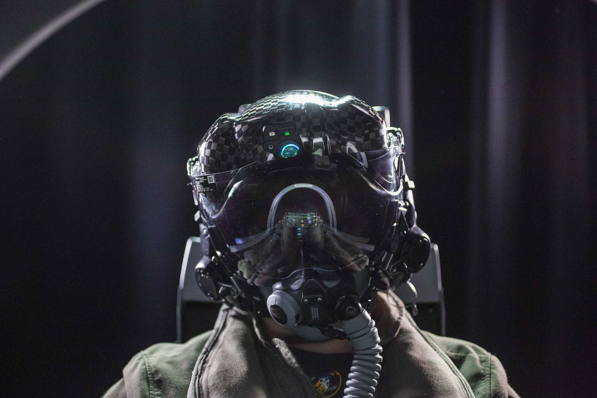 Mũ phi công của chiến cơ F-35