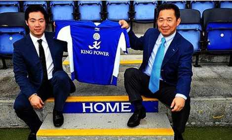 Tỉ phú Vichai mua lại Leicester City vào năm 2010