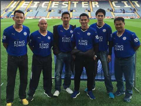 Kiatisuk là cầu nối giữa Leicester City và bóng đá Thái Lan