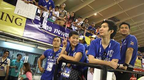 Những người hâm mộ bóng đá trẻ tuổi tại Thái Lan sẽ lựa chọn Leicester City?