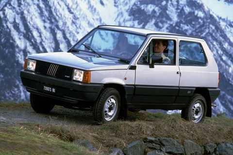 Fiat Panda 4x4, chiếc mini SUV đầu tiên của hãng xe Ý