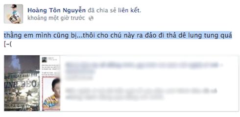 Hoàng Tôn cũng cho biết một