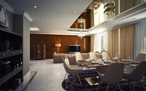Với các nguyên liệu gỗ tự nhiên Solid 100%, căn hộ cùng với nội thất của hãng Bamax làm xiêu lòng khách mời bởi sự cầu kỳ, in đậm dấu ấn của thời gian, sang trọng nhưng toát lên được vẻ thanh thoát và ngẫu hứng