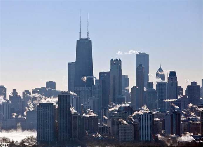 Các tòa nhà cao ốc ở Chicago