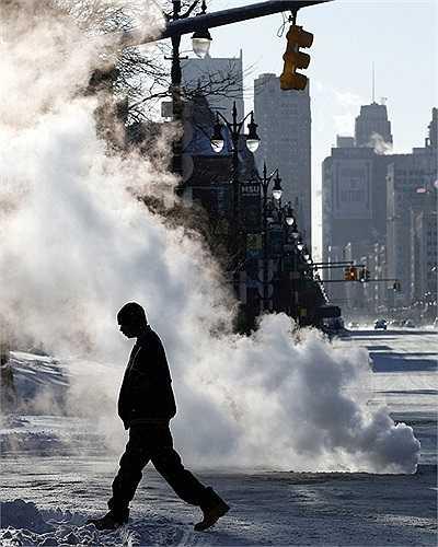 Những con phố lạnh giá ở Detroit, Michigan