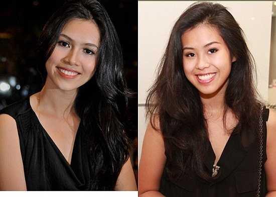 Không khó để nhận ra gương mặt, ánh mắt, nụ cười và làn da nâu của Thảo Tiên rất giống Hoàng My. Nhiều người cho rằng, họ còn giống nhau hơn cả chị em gái trong nhà.