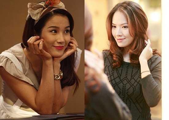 Nữ ca sỹ Thùy Linh của nhóm nhạc 5 Dòng Kẻ được nhận xét là bản sao của Jennifer Phạm. Ở nhiều góc chụp, trông họ như chị em.