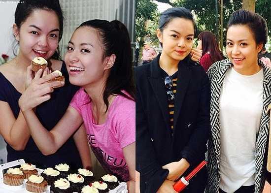 Ở góc chụp này, Thùy Linh và Quỳnh Anh rất giống nhau.