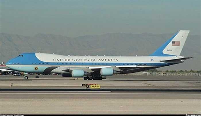 Chuyên cơ Air Force One của Tổng thống Obama.