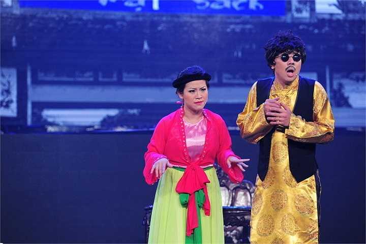 Cùng xem một số hình ảnh tiêu biểu trong liveshow của Trấn Thành: