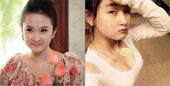 """Ngoài việc sở hữu gương mặt có nhiều nét hao hao giống Angela Phương Trinh, cô bé này còn trùng tên với """"Bà mẹ nhí"""". Với sự trùng hợp đặc biệt này, cô bé Phương Trinh đã khiến cư dân mạng """"phát sốt"""" hồi tháng 6/2013."""