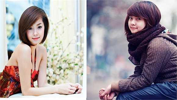 Cô nàng Trần Huyền Trang, sinh năm 1989, tốt nghiệp trường Đại học Mỹ thuật công nghiệp Hà Nội có gương mặt giống hệt nữ ca sĩ Minh Hằng.