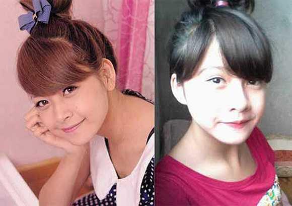 Cô bạn Nguyễn Khánh Huyền đã khiến không ít cư dân mạng sôi sục khi có khuôn mặt giống Chi Pu. Cách tạo dáng, trang điểm cũng khiến không ít người khỏi ngỡ ngàng vì quá giống.
