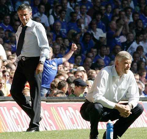 Số phận Mourinho và Wenger luôn trái ngược