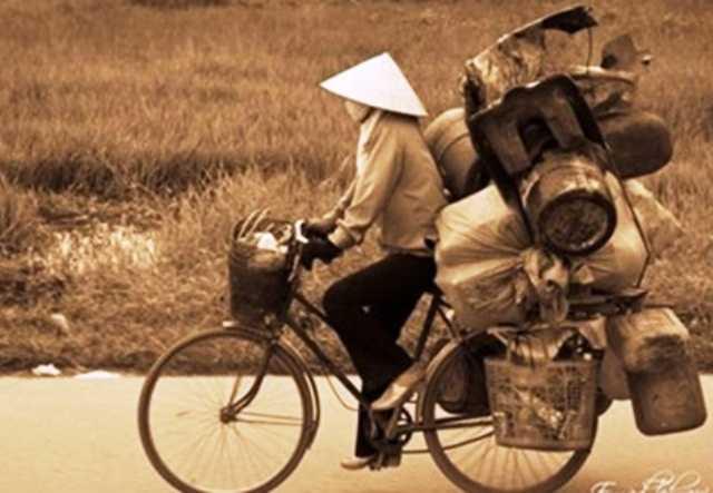 Một người phụ nữ mua bán ve chai trúng đậm 5 triệu Yên Nhật(ảnh minh họa)