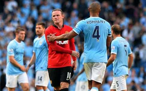 Man City là thử thách rất lớn với Rooney và các đồng đội