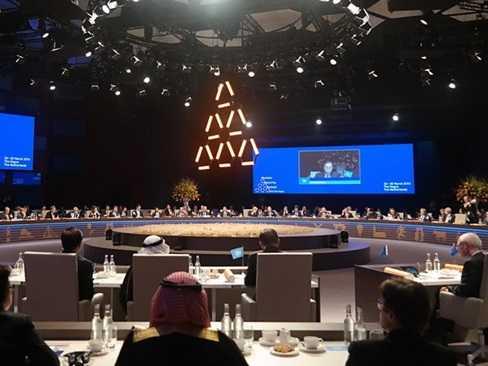 Toàn cảnh khai mạc Hội nghị Thượng đỉnh An ninh Hạt nhân tại Hà Lan. (Ảnh: Đức Tám/TTXVN)