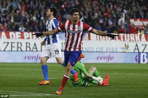 Diego Costa khó lòng thoát khỏi sức cám giỗ của Chelsea