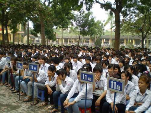 Đợt kiểm tra các trường THPT tại Hà Nội đã phát hiện nhiều trường không chấp hành đúng quy định. Ảnh minh họa