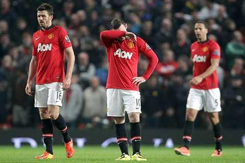 Man Utd đã thua quá nhiều để có thể biện minh