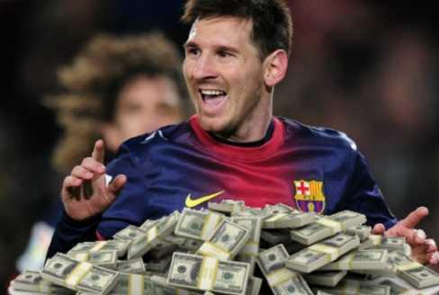 Messi chuẩn bị nhận mức lương khổng lồ