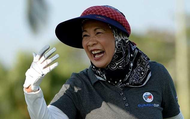 Hoàng hậu Malaysia Sultanah Haminah Hamidun