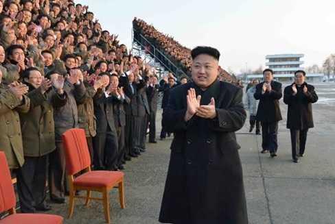 Ông Kim Jong-Un có kiểu đầu mang đặc trưng riêng (Nguồn: AFP)