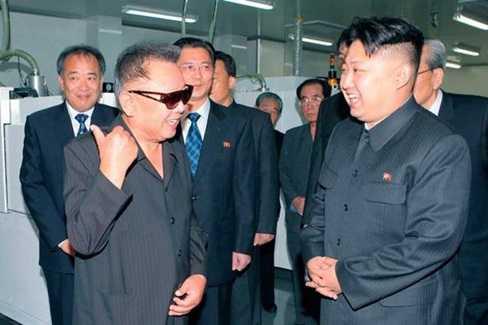 Kiểu tóc của hai nhà lãnh đạo Kim Jong-il và Kim Jong-un