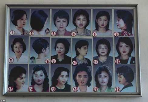 18 kiểu tóc nữ ở Triều Tiên